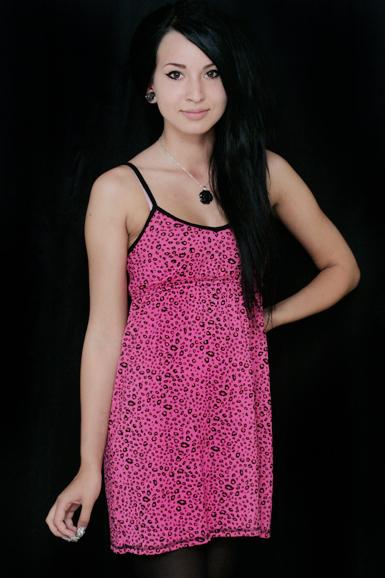 Leopard -pikkumekko -pinkki