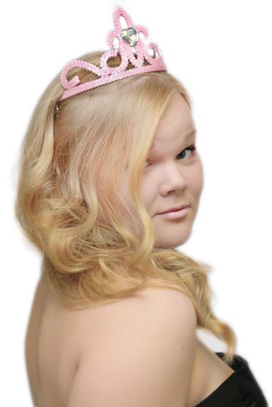 Tiara -Vaaleanpunainen Prinsessa