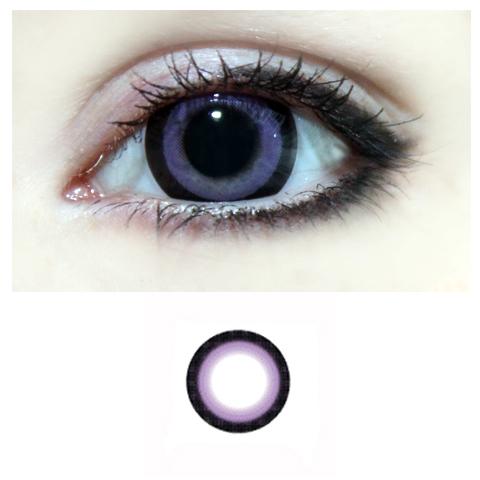 Xtra Super Ring 2tone -violetti -v�rilliset Piilolinssit -1 Vuosi -pari!!