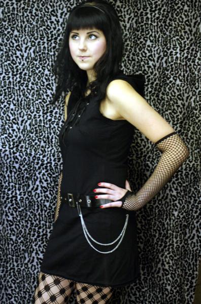 Minidress W/ Belt -black