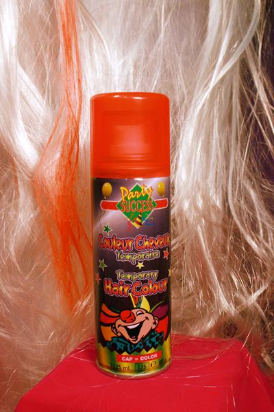 V�rillinen Uv Hiuslakka -orange