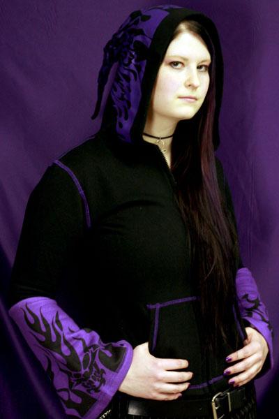 Tattoo Huppari -violetti-