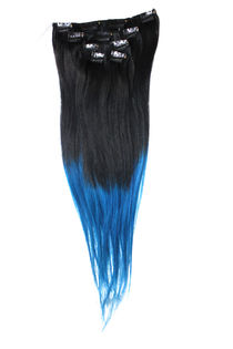 "Clip-on 5-os 80g 20"" -Black/Blue Slide"