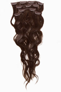 "Clip-on 5-os 80g 20"" -Kihara -Chocolate Brown #4"