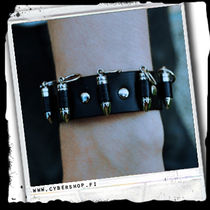 Leather Bracelet -Ammunition