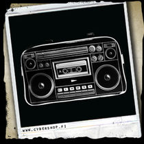 Ghettoblaster -Black
