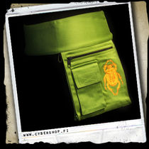 Pocket Skirt -Scarab -Light green/yellow