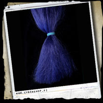 Fiber Hair -Night blue