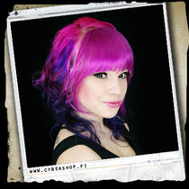 Synthetic Clip-On Forelock - Pinky