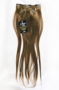 "Clip-on 5-os 80g 20"" -Earth Brown #7"