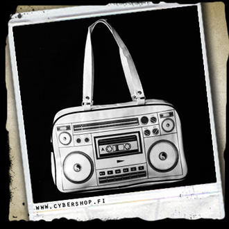 Ghettoblaster -White