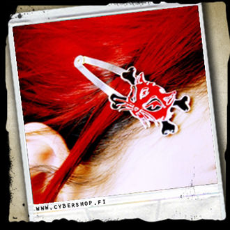 Red Cat HairClip