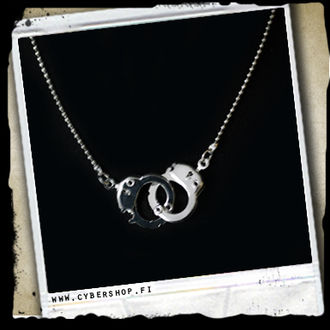 Necklace -Small handcuffs