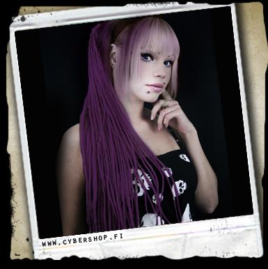 Kuiturastat -black/purple Mix