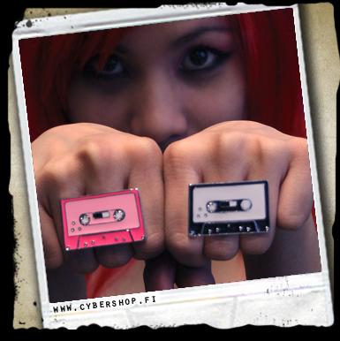 Cassette -sormus -iso