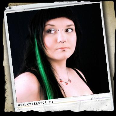 Tekokuituraita -dark Green