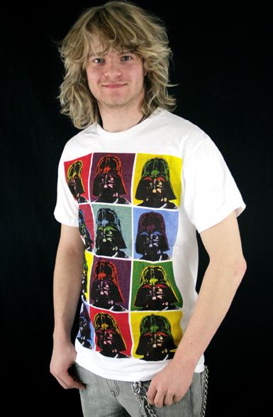 Popart Vader T-paita