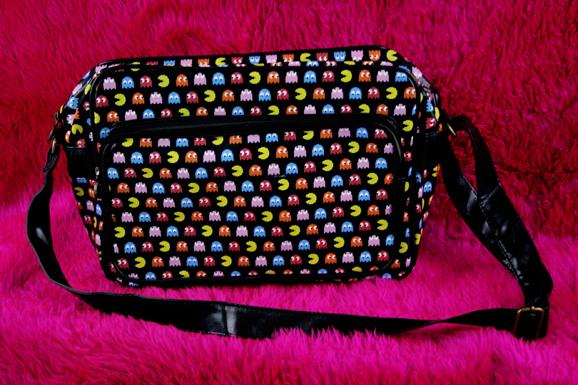 A. Pacman Bag -black -colorful