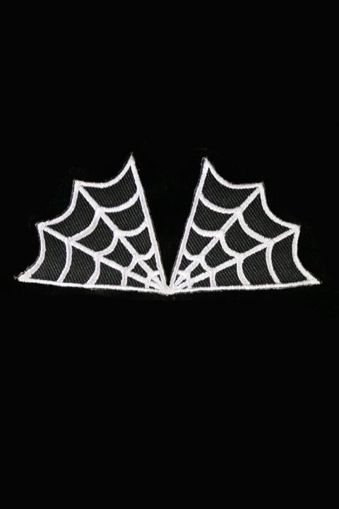 Patch -spiderweb Kangasmerkki