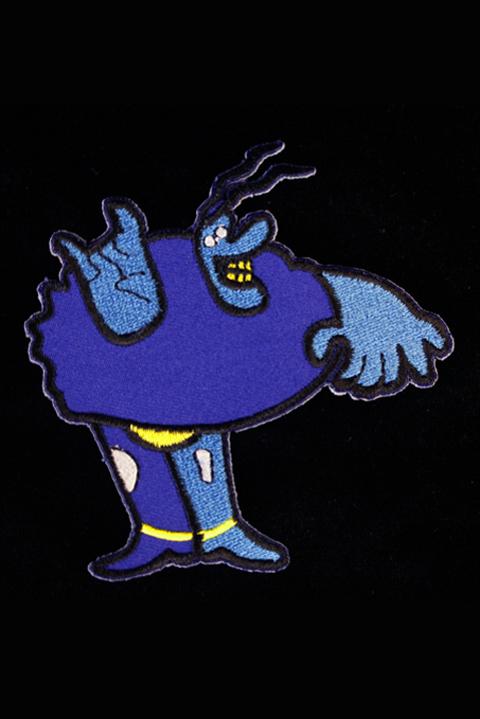 Patch -blue Meanie Kangasmerkki