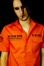 Prisoner shirt -Death row -Orange -A/18/2