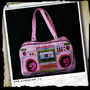 Ghettoblaster-Oldschool -Multicolour-Pink
