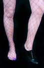 Net Stockings -Big Net -Purple