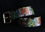Tattoo Belt -Black w/ tigers