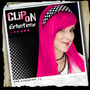 Synthetic Clip-on extensions -Pink