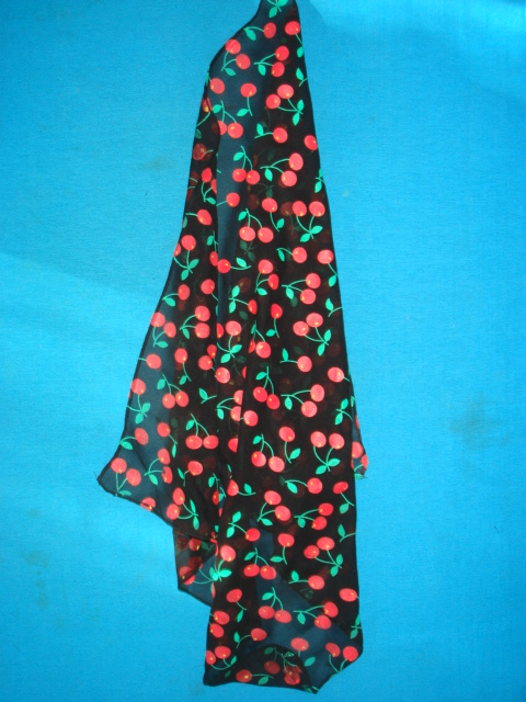 Scarf-cherry Sifong Scarf