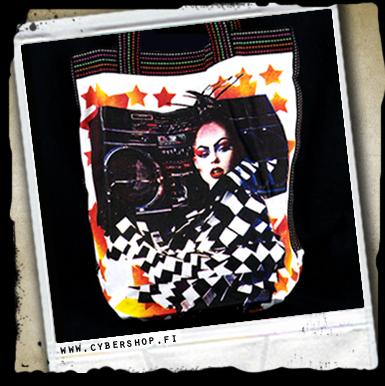 A. Canvas Bag -ghetto Geisha