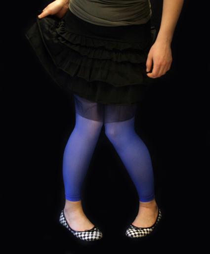 Legginsit -sininen