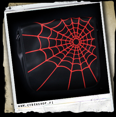 A.Spider web bag -Red