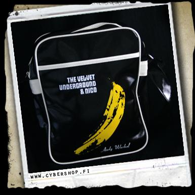 A.velvet Underground Bag -black W/ White